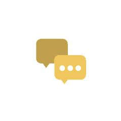Dialog circles