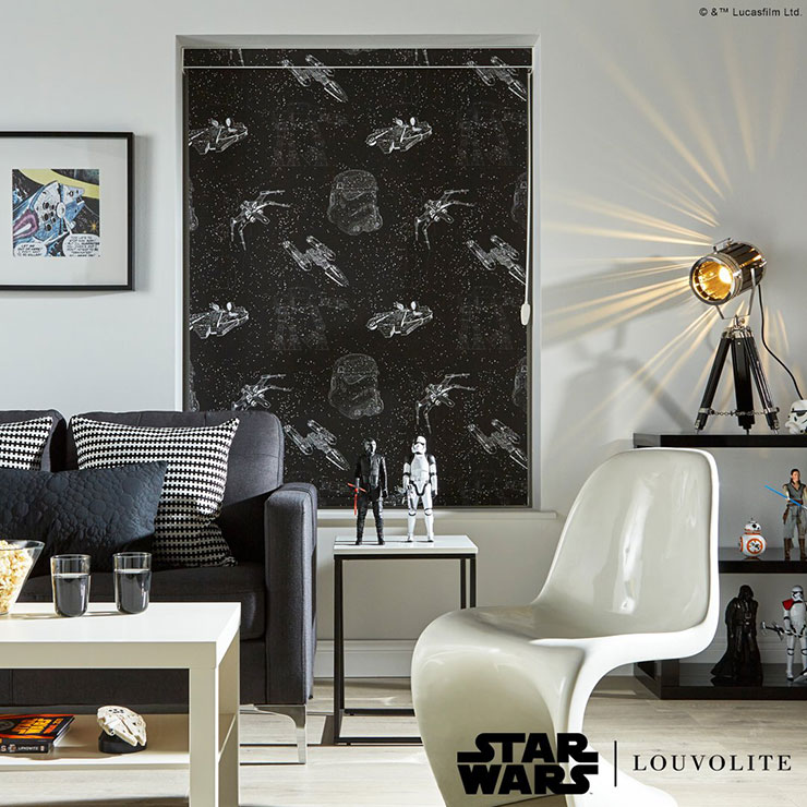 Starwars Printed Blinds in Doncaster